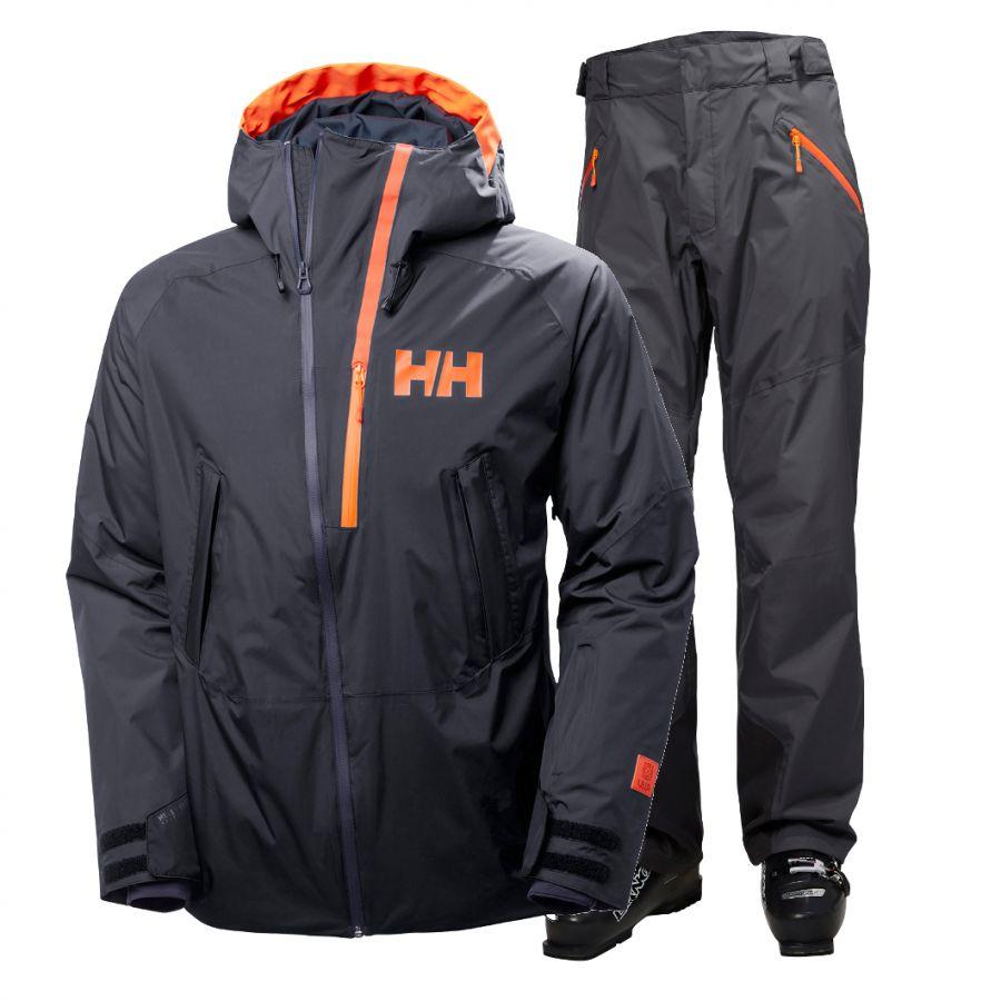 Helly Hansen Nordal/Selkirk skisæt, herre, graphite blue