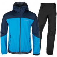 Kilpi Hurricane/Alpin regntøj sæt, herre, blå/sort