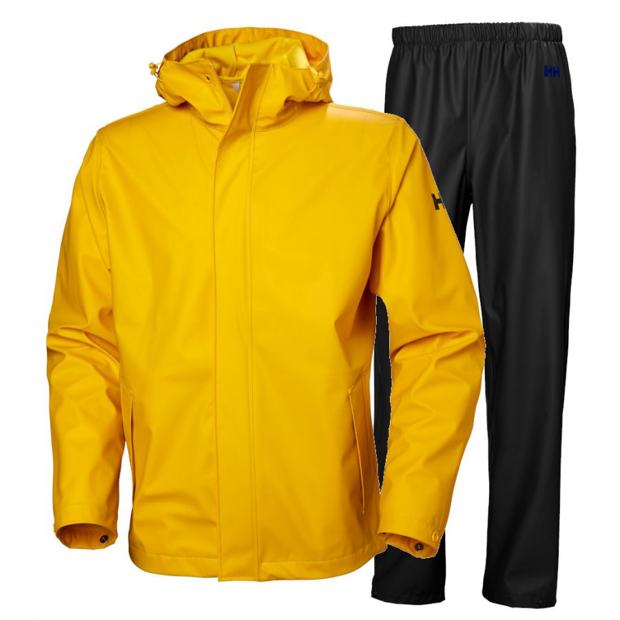 Helly Hansen Moss Regntøy, Herre, Yellow/Black