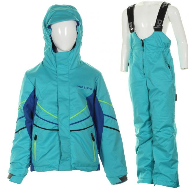 DIEL Felix/Fifo skisæt, dreng, blå