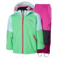 Helly Hansen Shelter, regnsæt, børn, spring/pink