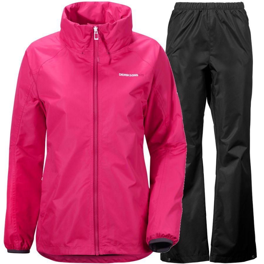 Didriksons Vivid women, pink/black