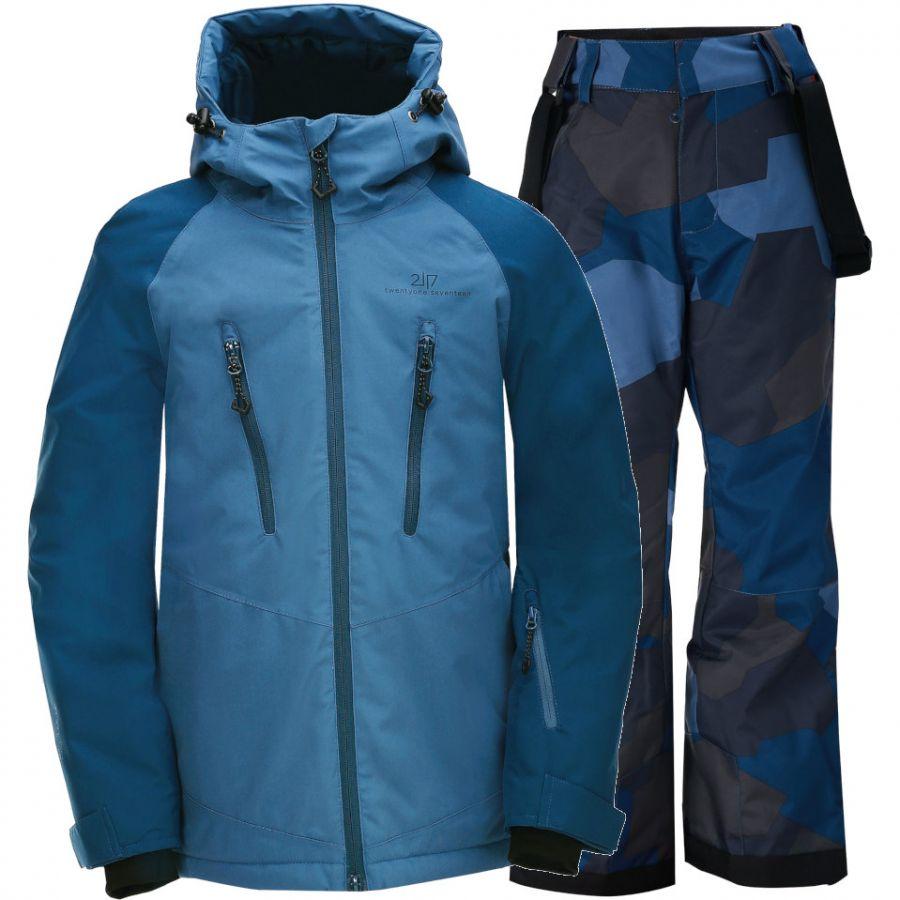 2117 of Sweden Lammhult, junior, blue camo
