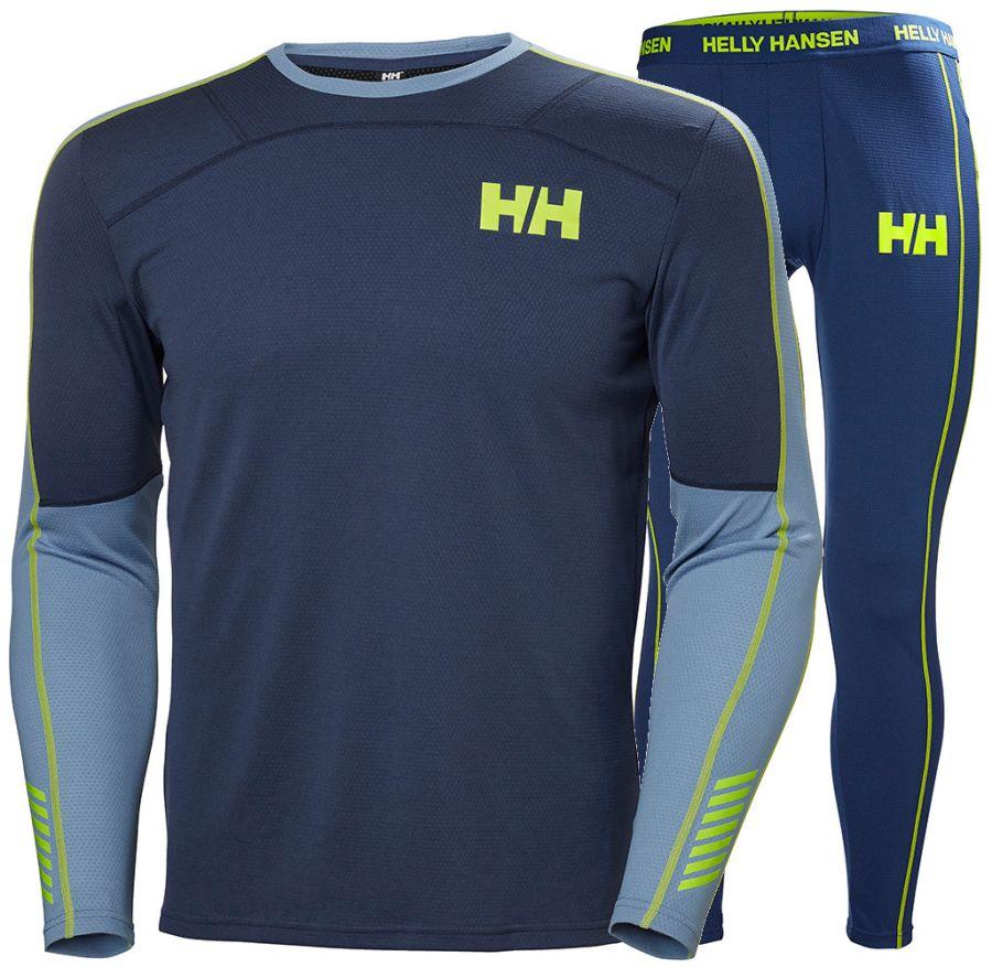 Helly Hansen Lifa Active skiundertøj, sæt, herre, blå