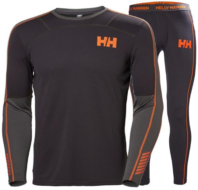 Helly Hansen Lifa Active skiundertøj, sæt, herre, grå