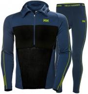 Helly Hansen H1 PRO Lifa H/Z skiundertøj, sæt, herre, blå