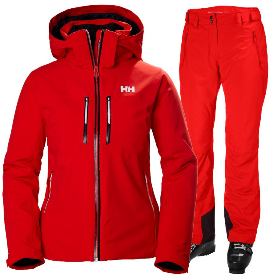 Helly Hansen Alphelia Lifaloft/Legendary, women, alert red