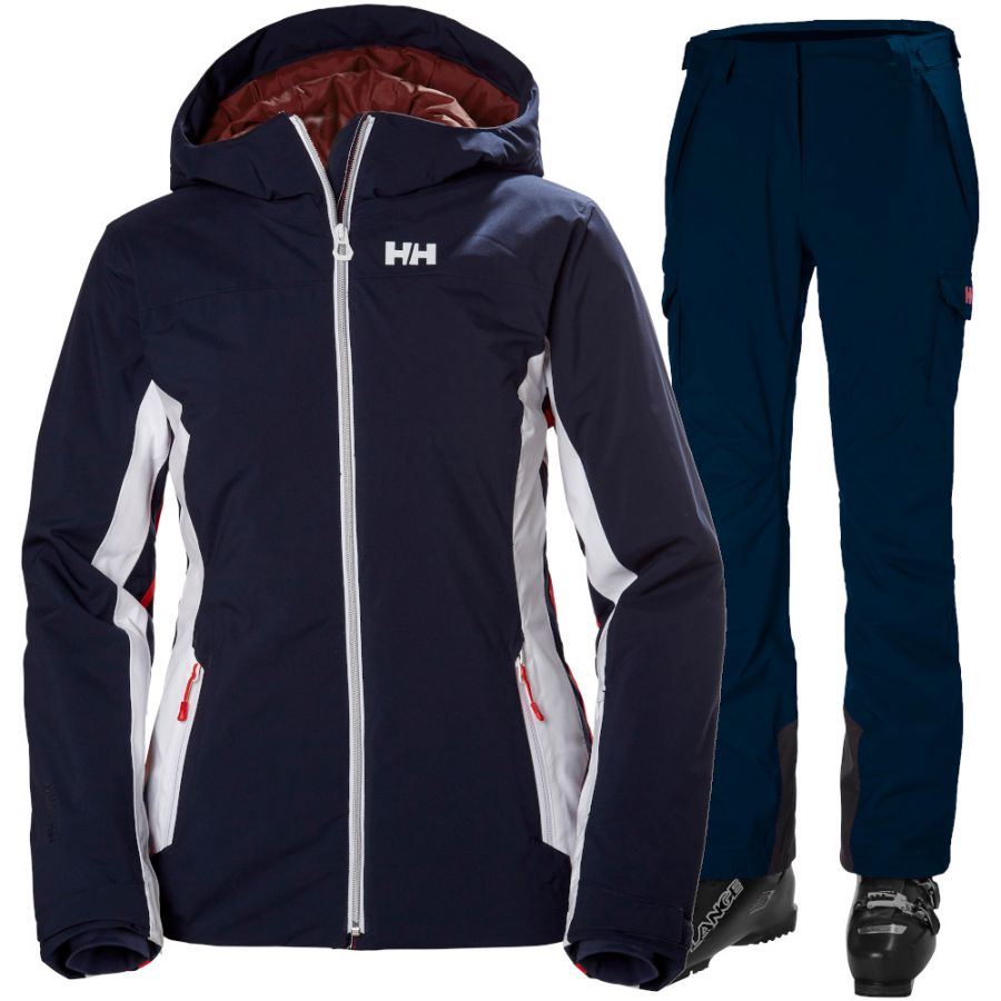 Helly Hansen Majestic Warm/Switch Cargo 2.0 skisæt, dame, mørkeblå