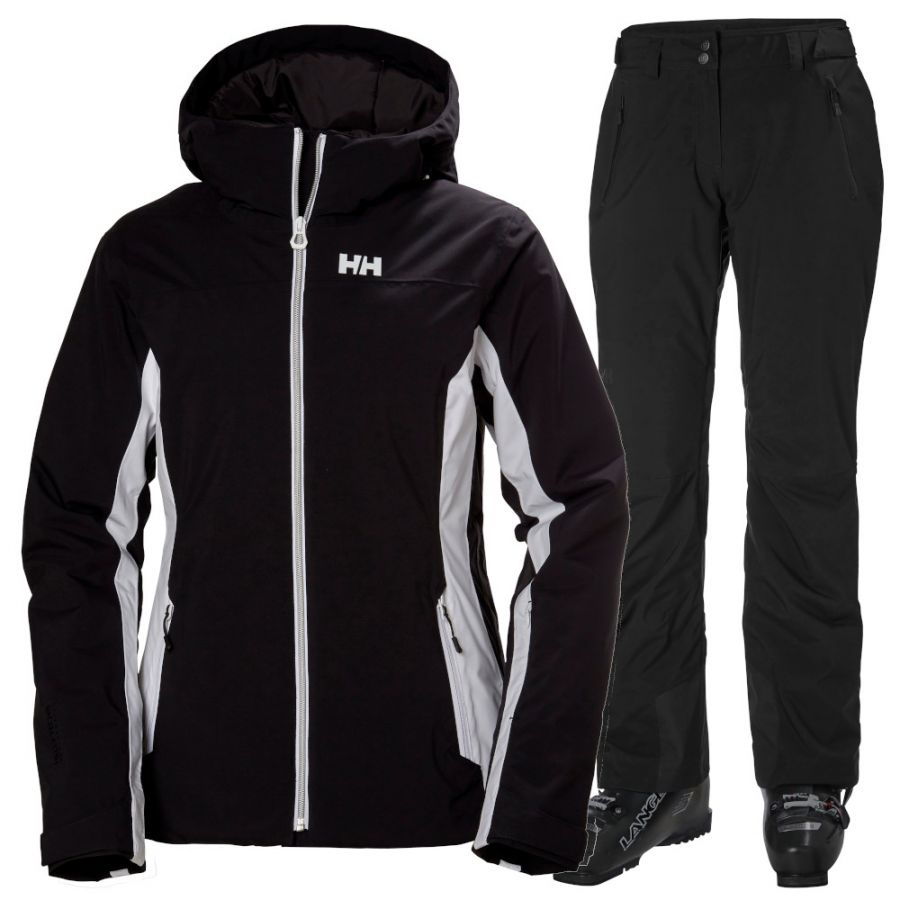 Helly Hansen Majestic Warm/Legendary skisæt, dame, sort