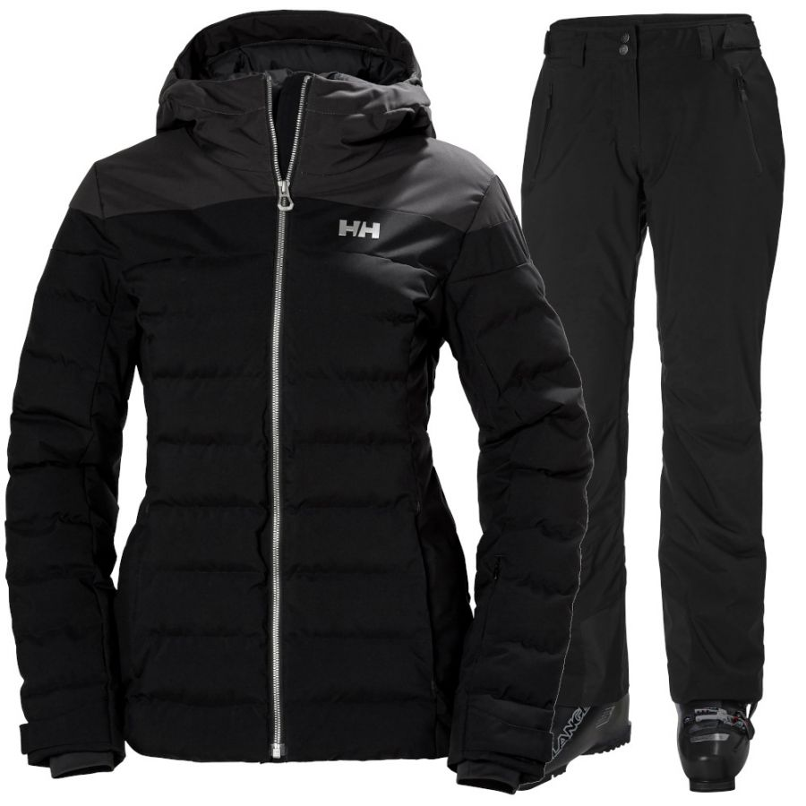 Helly Hansen Imperial Puffy/Legendary skisæt, dame, sort