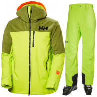 Helly Hansen Straightline/Legendary skisæt, herre, grøn
