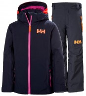 Helly Hansen Crystal/Legendary skisæt, junior, mørkeblå
