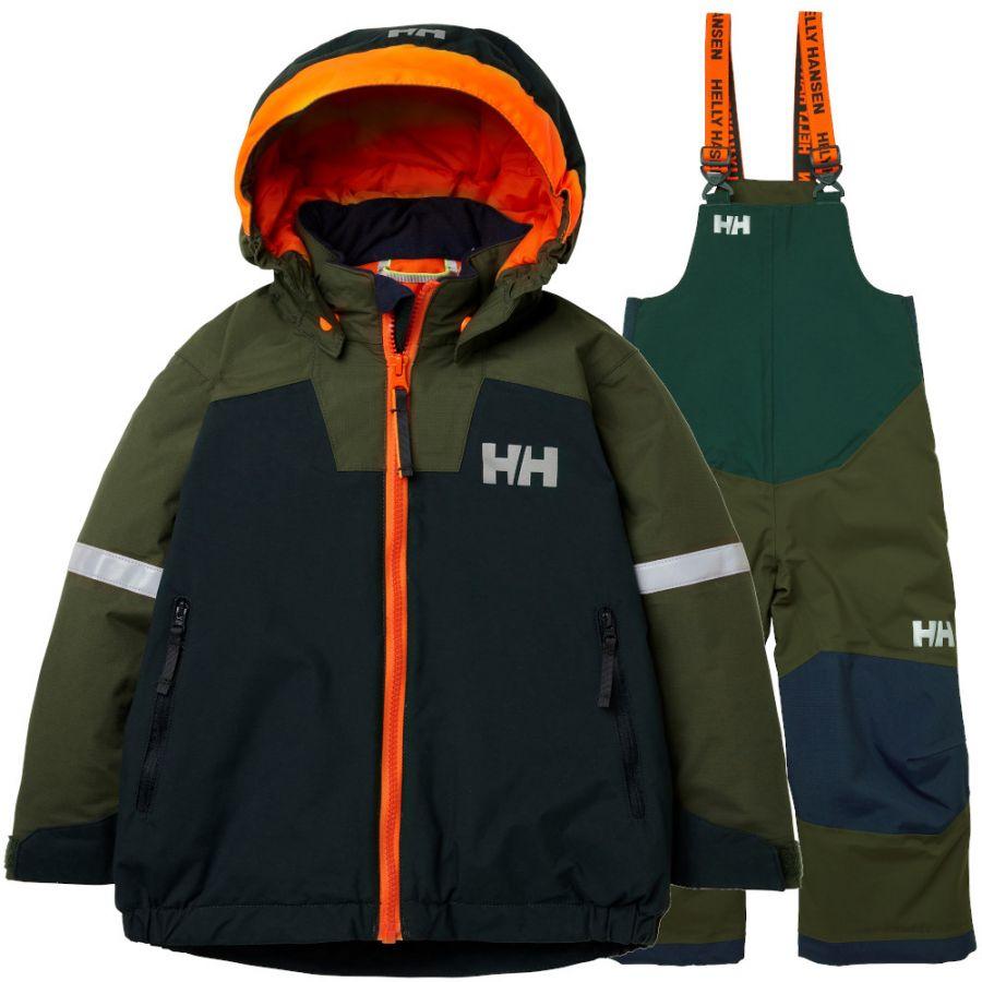 Helly Hansen Legend/Rider Bib, Junior, Green