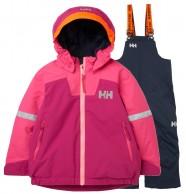 Helly Hansen Legend//Rider Bib skisæt, junior, rosa/blå