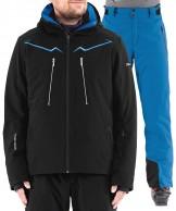 DIEL Maverick/Parson skisæt, herre, sort/blå