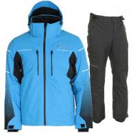 DIEL Sam/Parson skisæt, herre, blå/sort