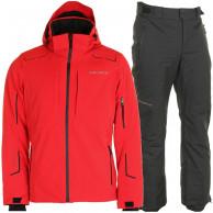 DIEL Marshal/Palmer skisæt, herre, rød/sort