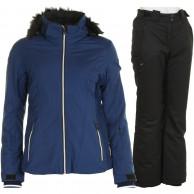 DIEL Fram/Page skisæt, dame, blå/sort
