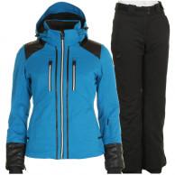 DIEL Farida/Pamela skisæt, dame, blå/sort