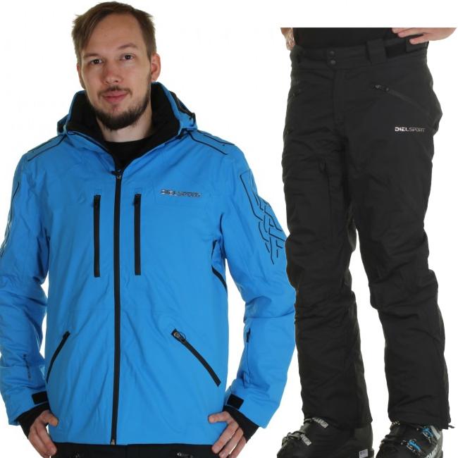 DIEL Aspen/Alta Badia skisæt, herre, blå/sort