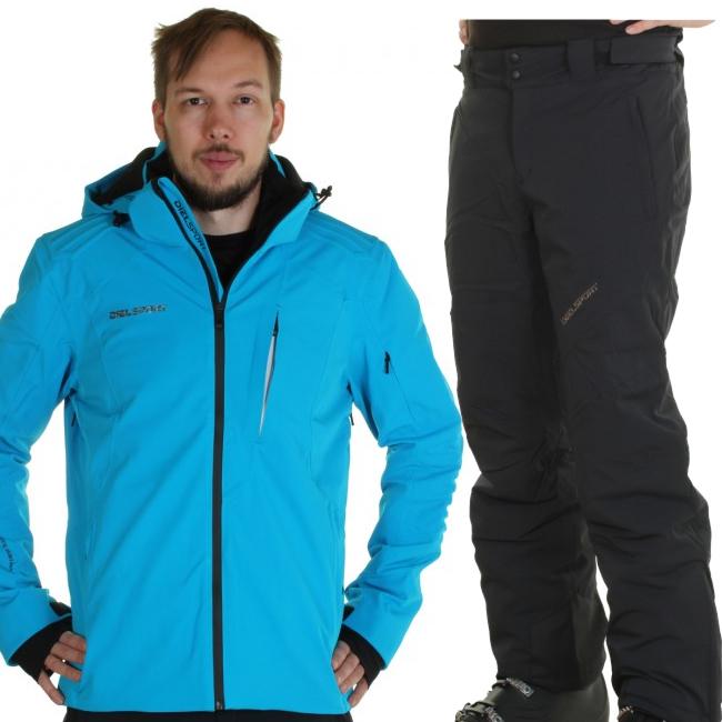 DIEL Val Disere/Garmisch P skidset, herr, blå/svart
