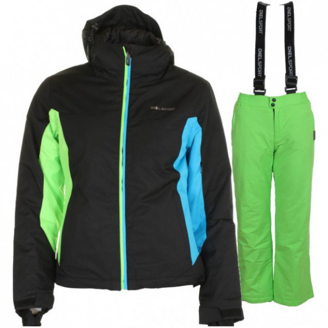 DIEL Jessica/Jamie, Junior, Black/Green