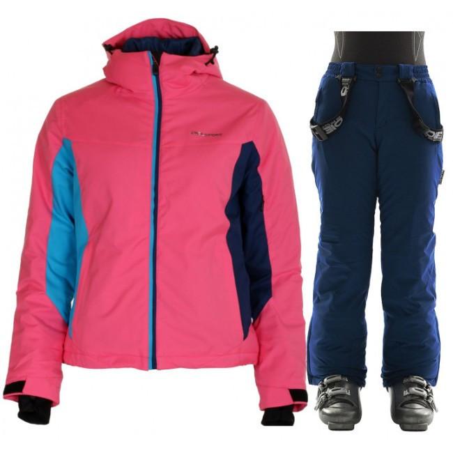 DIEL Jessica/Jamie skisæt, junior, pink/blå