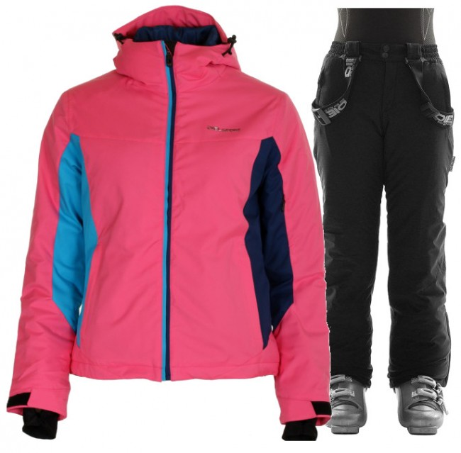 DIEL Jessica/Jamie, Junior, Pink/Black