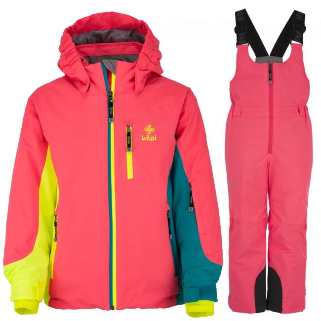 Kilpi Sawa/Mia-JG skisæt, pige, pink