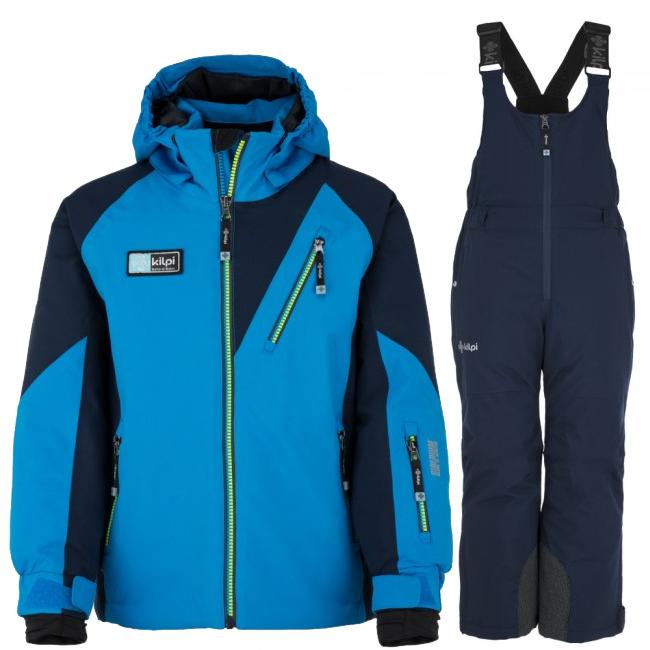 Kilpi Garney/Charlie-JB skisæt, dreng, blå