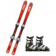 Salomon S/MAX Jr M Orange + Salomon Team T3 Jr.