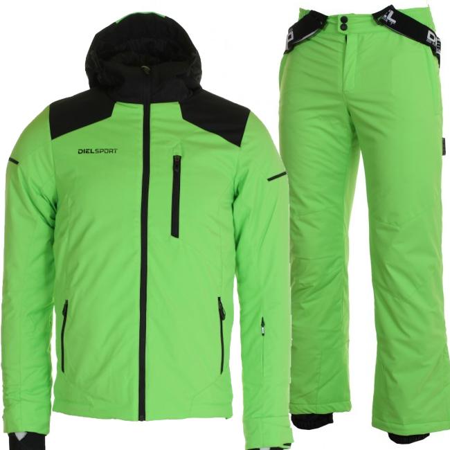 DIEL Arolla/Auron skisæt, børn, grøn