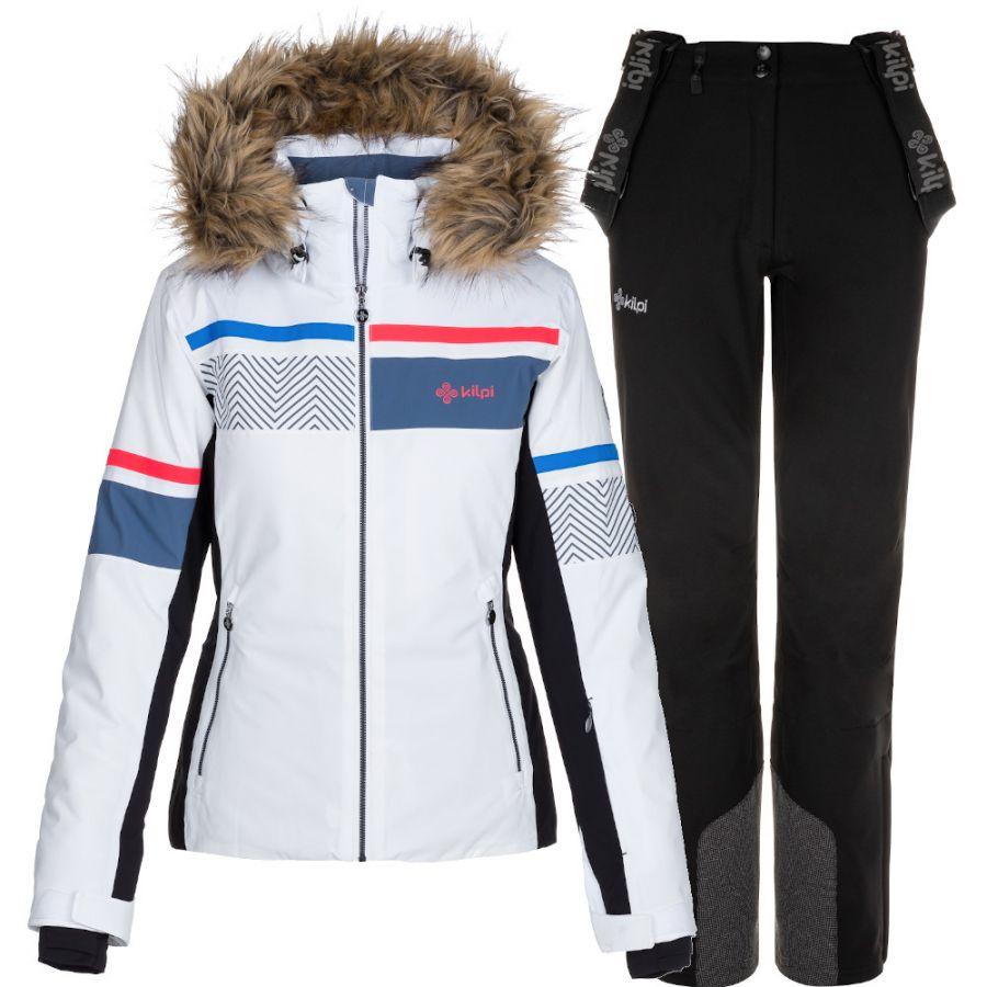 Kilpi Aniela/Rhea skisæt, dame, hvid/sort