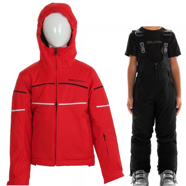DIEL Sestriere/Sugarloaf, kids, red/black