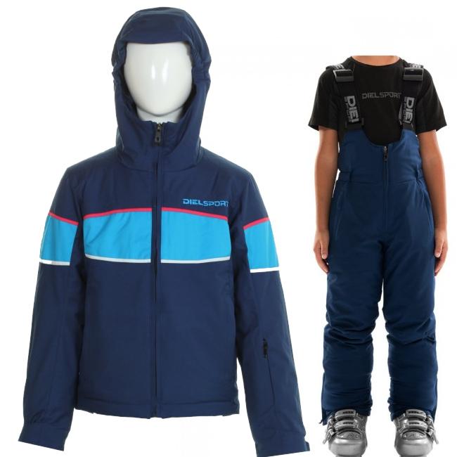 DIEL Sestriere/Sugarloaf skidset, barn, blå