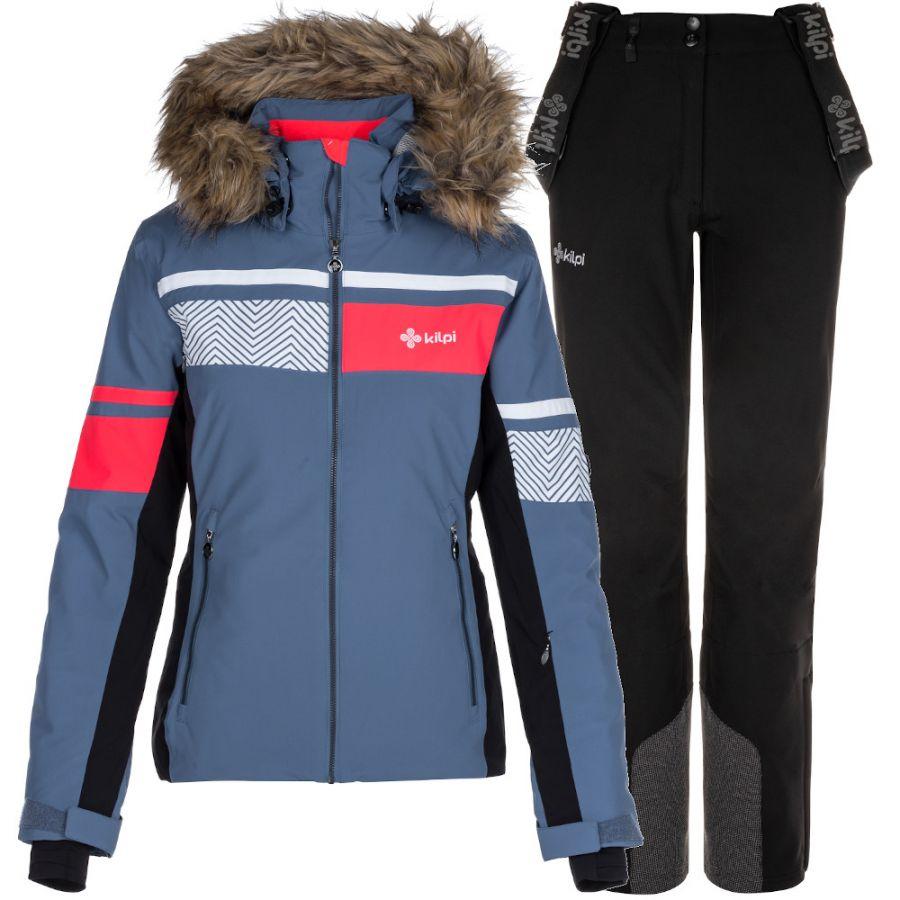 Kilpi Aniela/Rhea skisæt, dame, blå/sort