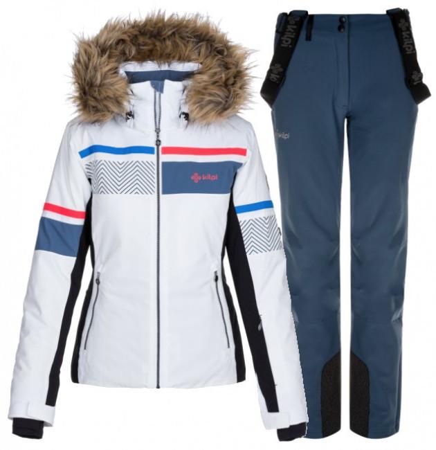 Kilpi Aniela/Rhea skisæt, dame, hvid/blå