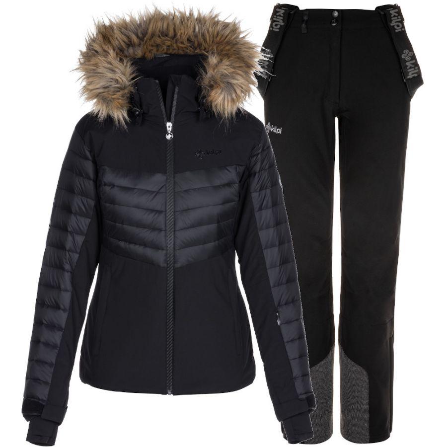 Kilpi Breda/Rhea skisæt, dame, sort