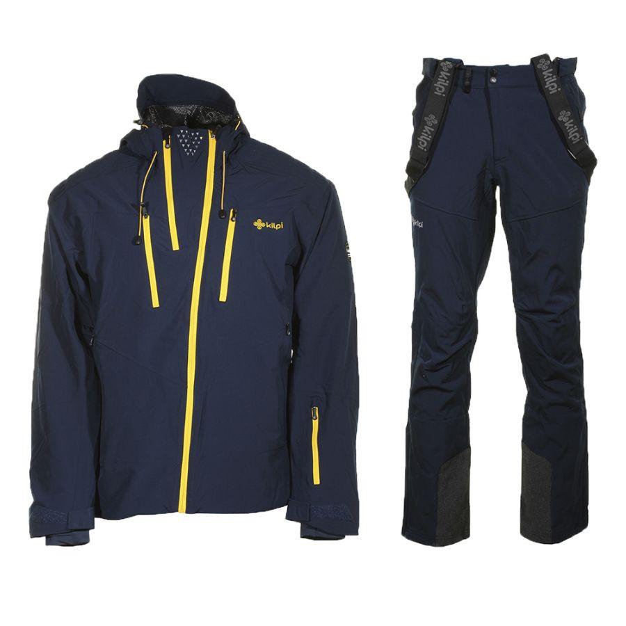 Kilpi Thal/Rhea skisæt, herre, mørkeblå