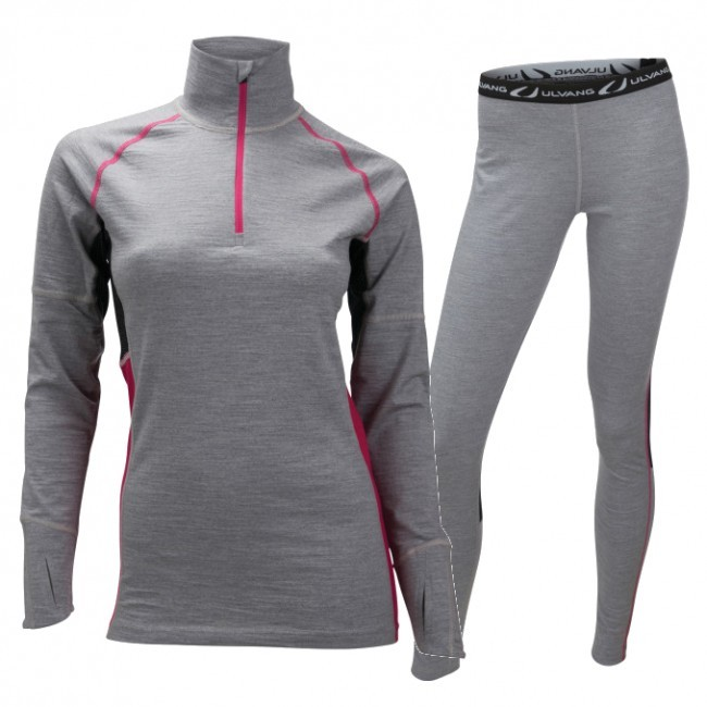 Ulvang Training Turtle, women, grey melange