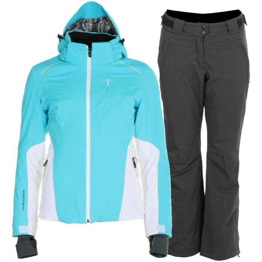 DIEL Sybil/Pandora skisæt, dame, blå/sort