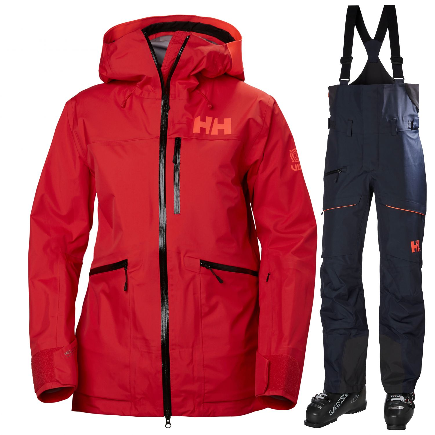 Helly Hansen Kvitegga, Dame, Red/Navy