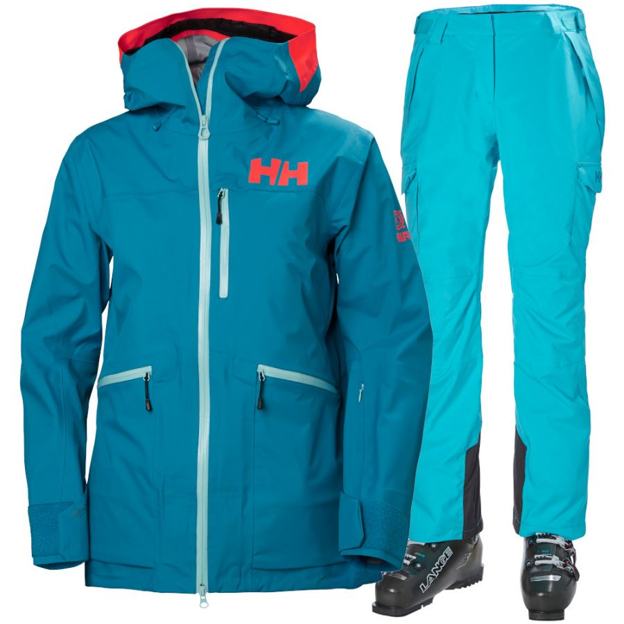 Helly Hansen Kvitegga/Switch Cargo 2.0, Dame, Blue
