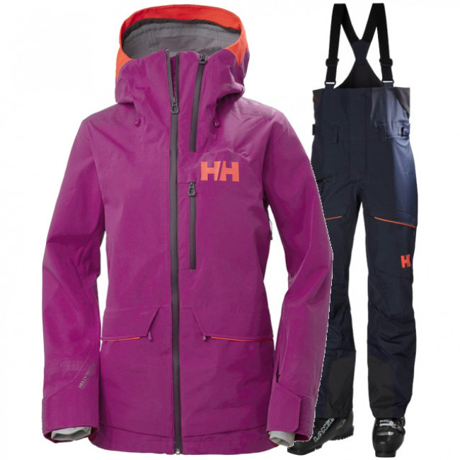 Helly Hansen Aurora 2.0/Kvitegga, women, purple/navy