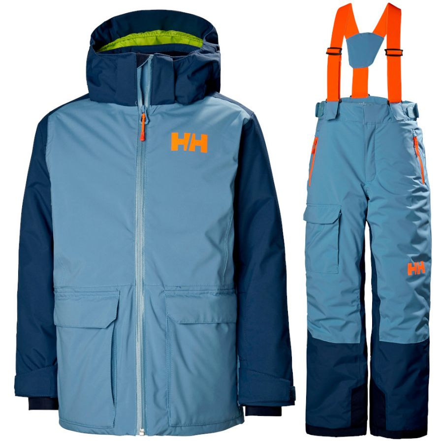 Helly Hansen Skyhigh/No limits skisæt, junior, blå