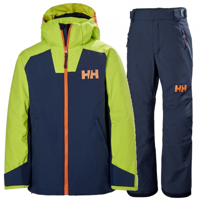 Helly Hansen Twister/Legendary skisæt, junior, blå