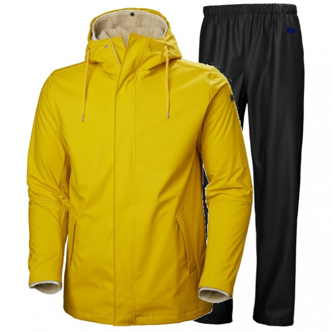 Helly Hansen Moss insulated, Herr, Yellow/Black