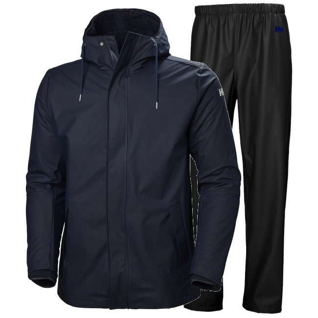 Helly Hansen Moss Insulated, Herre, Blue/Black