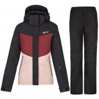 Kilpi Mils/Gabone, skisæt, dame, sort