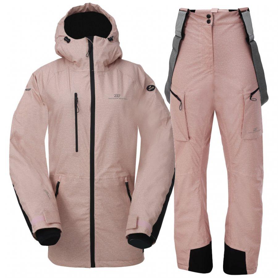 2117 of Sweden Lanna, Skisett, Dame, Pink